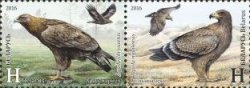 Belorussia. The Eagles. Joint issue with Azerbaijan. Set of 2 stamps